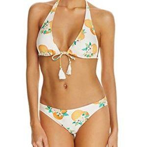 Kate Spade Capistrano Beach Tassel Halter Bikini